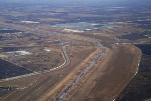 Diverting Water in Floodway